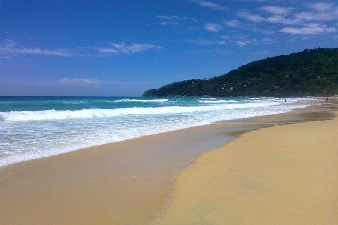 хорошие пляжи Карон