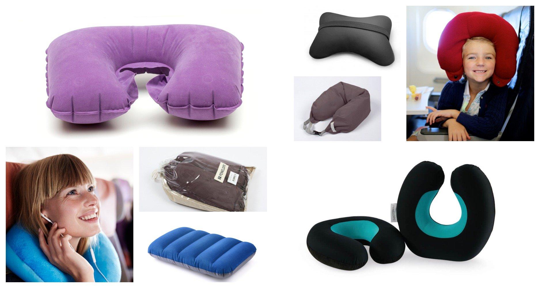 Как выбрать подушку для туристических путешествий